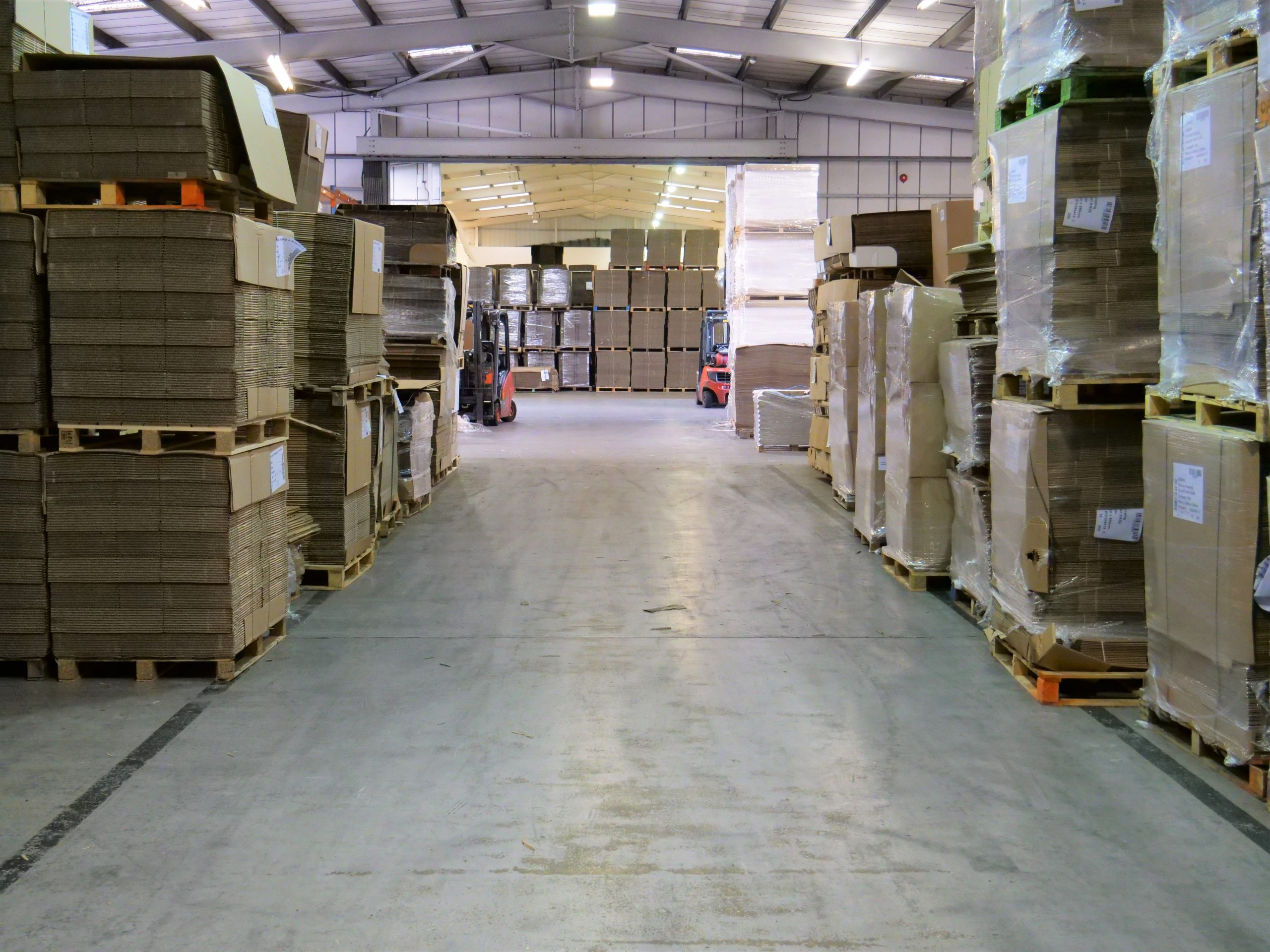 warehouse stock consignment
